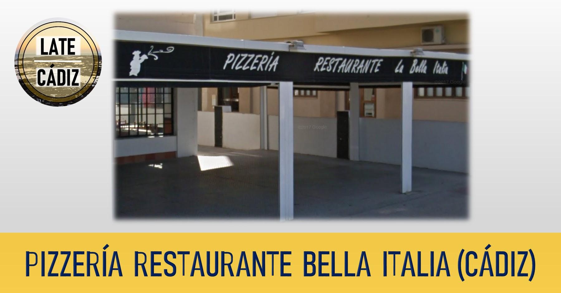 restaurante pizzeria bella italia cadiz 0